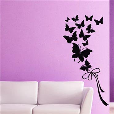 Sticker Papillons et ruban - stickers papillon & stickers muraux - fanastick.com