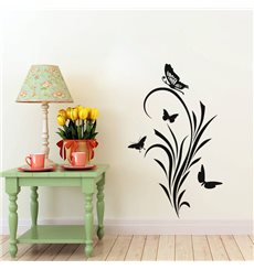 Sticker Papillons et baroque