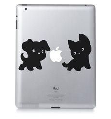 Sticker Chiot et chaton