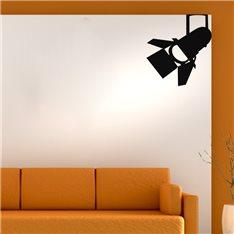 Sticker Lumière sur un tournage