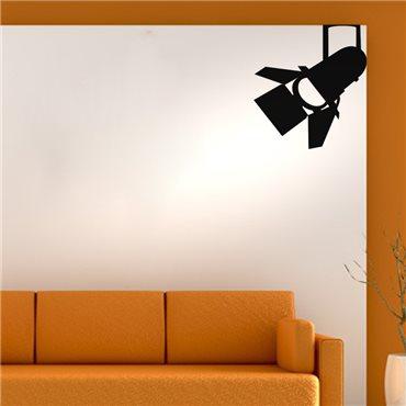 Sticker Lumière sur un tournage - stickers salon & stickers muraux - fanastick.com