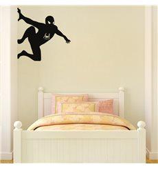 Sticker Silhouette Spiderman