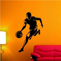 Sticker Joueur de Basket-ball