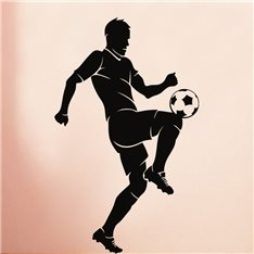 Sticker Footballeur jonglant