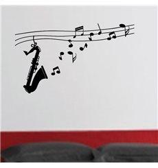 Sticker Design saxophone