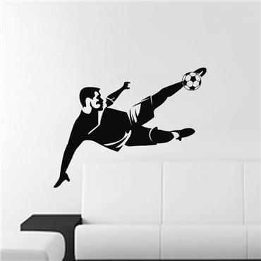 Sticker Parade footballeur - stickers chambre garçon & stickers enfant - fanastick.com