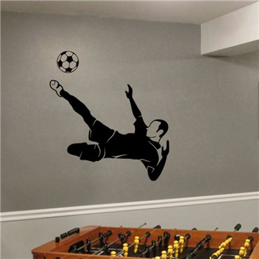 Sticker Style football - stickers foot & stickers muraux - fanastick.com