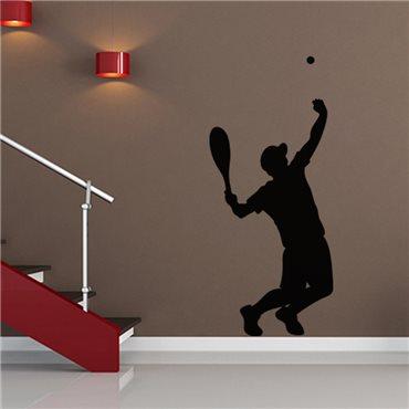 Sticker Service d'un tennisman - stickers chambre garçon & stickers enfant - fanastick.com
