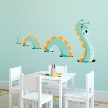 Sticker Loch Ness - stickers animaux enfant & stickers enfant - fanastick.com