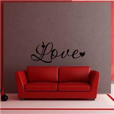 Sticker Love calligraphie