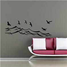 Sticker Oiseaux de mer