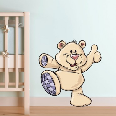 Sticker Ours en peluche - stickers animaux enfant & stickers enfant - fanastick.com
