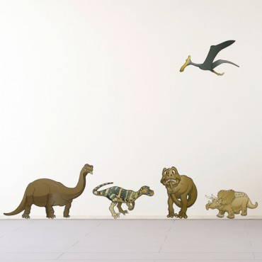 Sticker Pack dinosaures - stickers animaux enfant & stickers enfant - fanastick.com