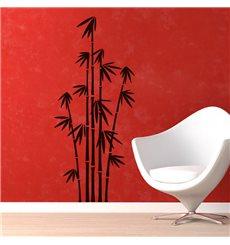 Sticker Des tiges de bambous alignées