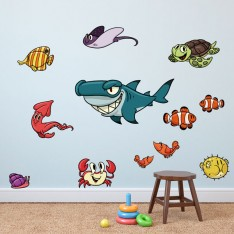 Sticker Pack poissons