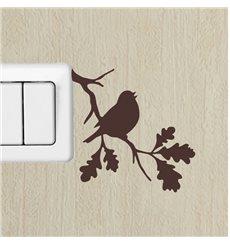 Sticker branche et l'oiseau 1
