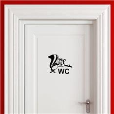 Sticker Bienvenue à WC!