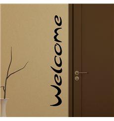 Sticker Bienvenue pour porte