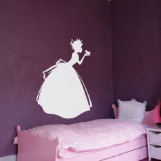 Sticker Princesse et la grenouille