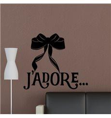 Sticker Ruban J'adore
