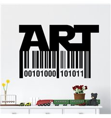 Sticker Code bar art