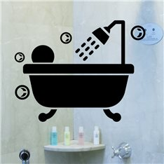 Sticker Bain bulles