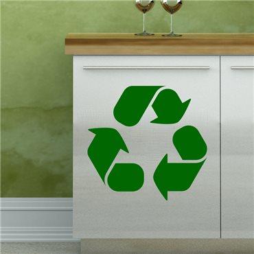 Sticker Design recyclage - stickers meuble & stickers muraux - fanastick.com