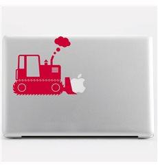Sticker Design Bulldozer