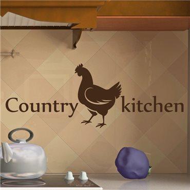 Sticker déco Cuisine de campagne - stickers cuisine & stickers muraux - fanastick.com