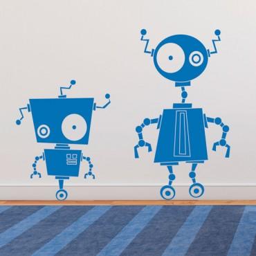 Sticker Robots zinzin - stickers enfants & stickers enfant - fanastick.com