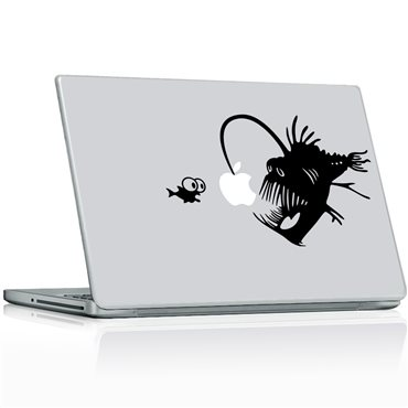 Sticker Poisson des Abysses - stickers ordinateur portable & stickers muraux - fanastick.com
