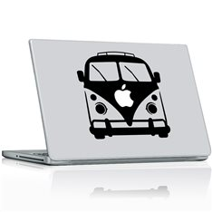 Sticker Bus Apple