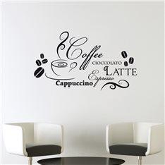 Sticker Design café et chocolat
