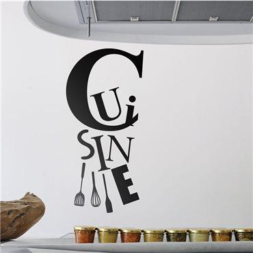 Sticker Cuisine et les ustensiles - stickers cuisine & stickers muraux - fanastick.com