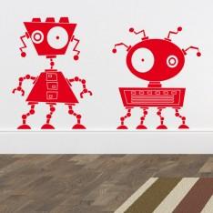 Sticker Robots zinzin 2