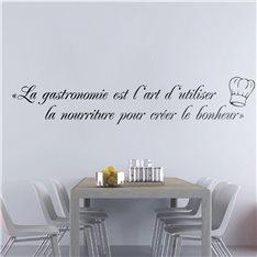 Sticker La gastronomie est ...