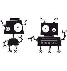 Sticker Robots zinzin 3