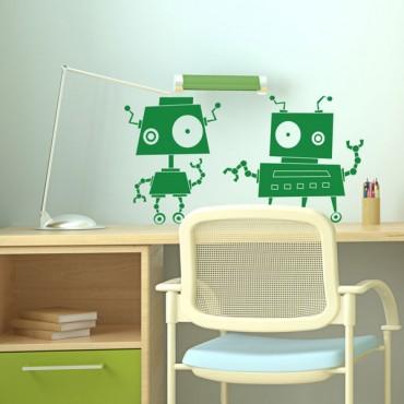 Sticker Robots zinzin 3 - stickers enfants & stickers enfant - fanastick.com