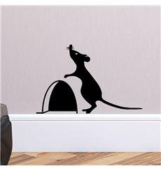 Sticker trou de souris avec la souris 2