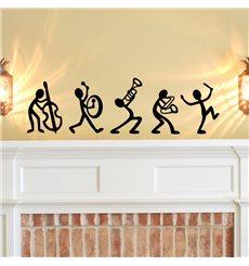 Sticker Jazz Band