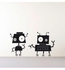 Sticker Robots zinzin 4