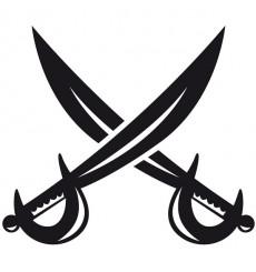 Sticker Sabres pirates