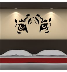 Sticker Les yeux de tigre