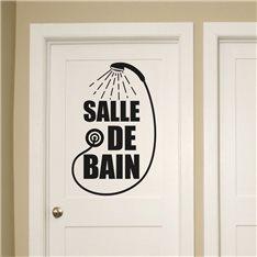 Sticker Douchette Salle de bain