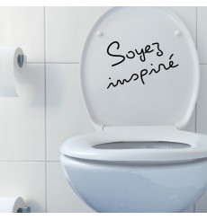 "Sticker citation:"" Soyez inspiré"""