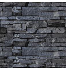 Sticker matériau parement de pierre volcanique 40x40cm