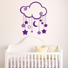 Sticker Tendre nuage