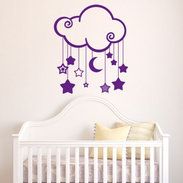 Sticker Tendre nuage - stickers enfants & stickers enfant - fanastick.com